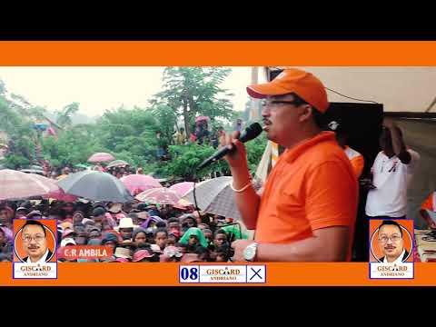 Andriano Giscard Com deputé District Manakara Candidat n 8 AMBOTAKA AMBILA MAROFARIHY LOKOMBY