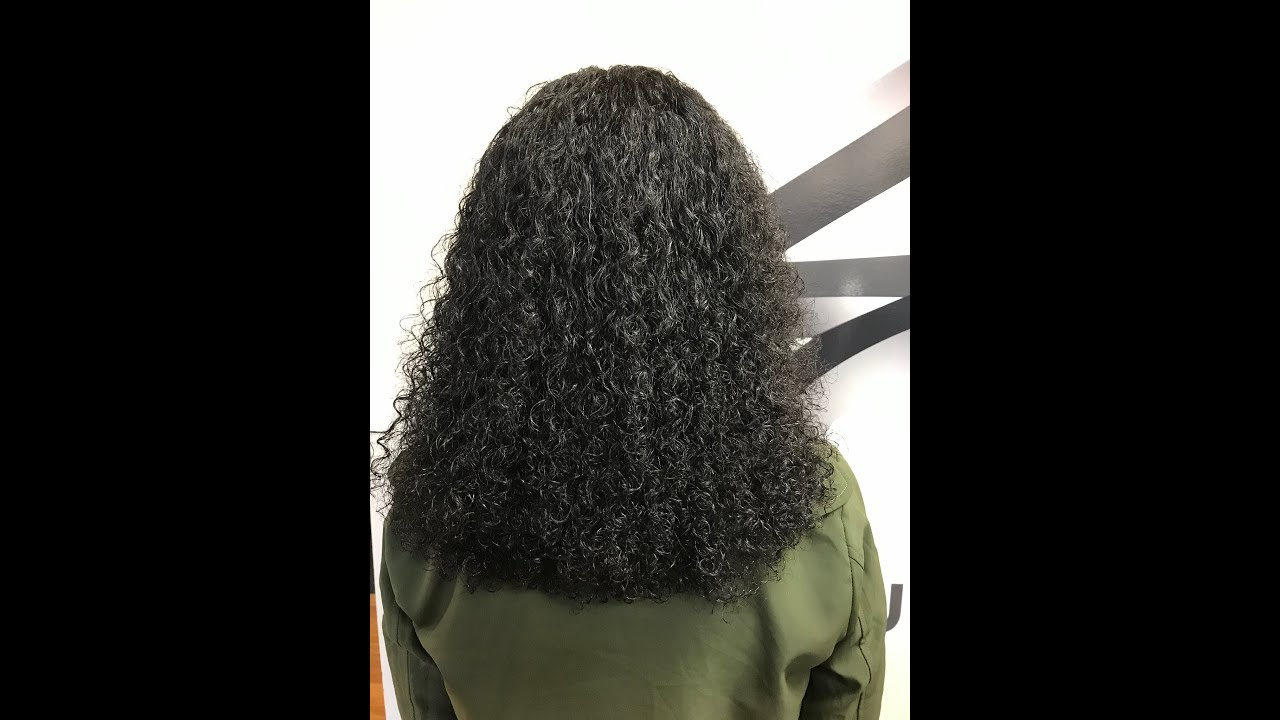 The Gina Curl Natural Curly Texture Hair Youtube