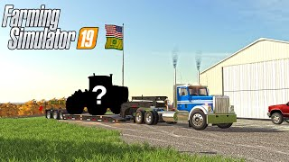 90'S FARMING NEW DELIVERY TO THE FARM!? | (ROLEPLAY) FS 1990'S