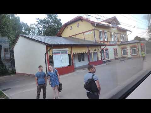 Светлогорск 2 – Светлогорск 1 на электропоезде «Ласточка» – 6 августа 2018