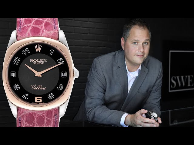 How To Wind a Manual Watch - Rolex Cellini | SwissWatchExpo [Watch How-To]