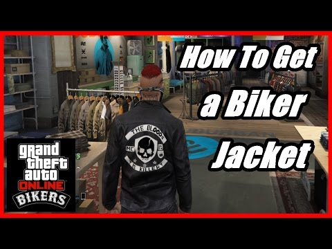 GTA 5 - How To Get a Biker Jacket