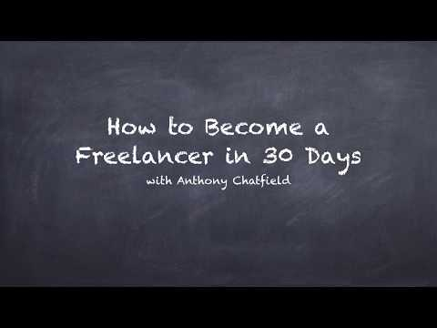 how to become a freelancer in 30 days ( Bidding for Freelance Work)