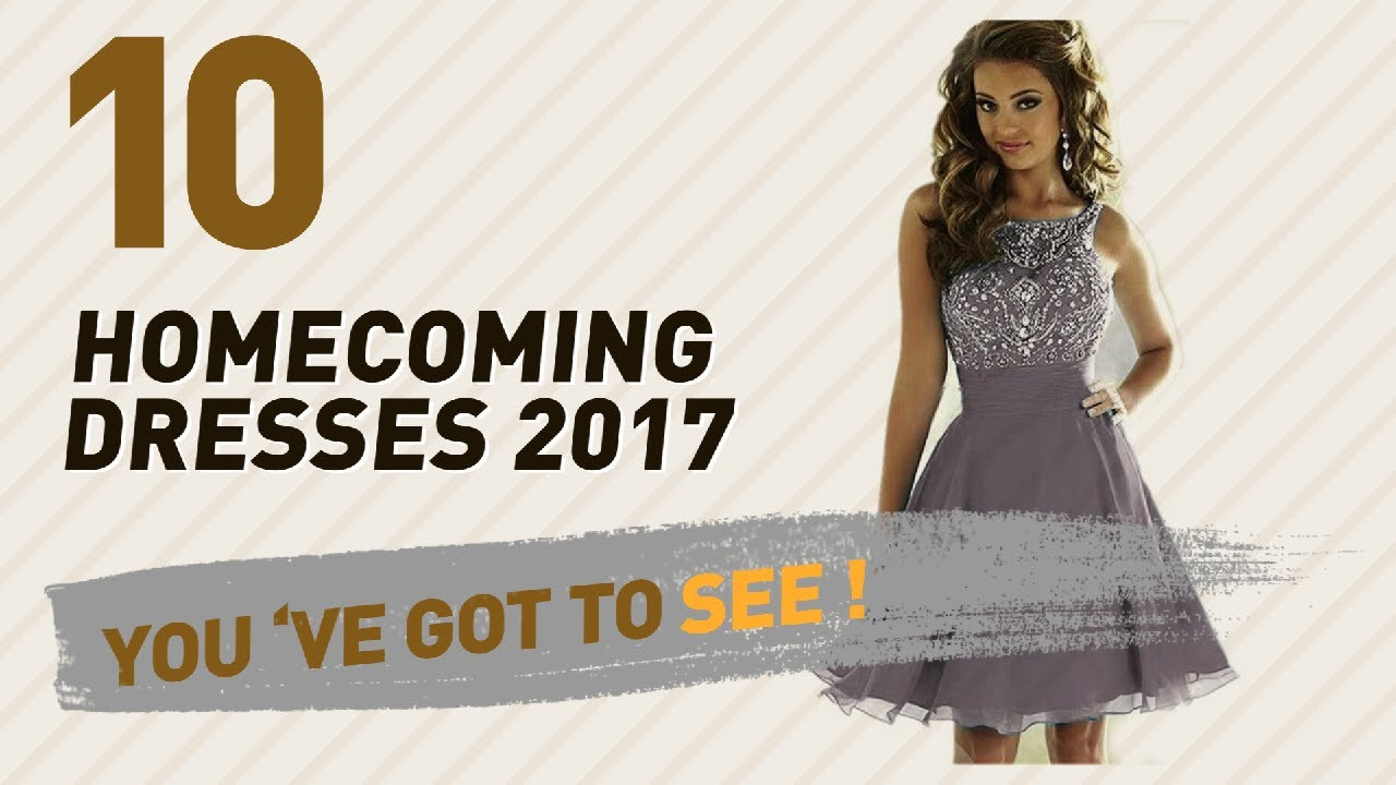 c69d7f554 Women Homecoming Dresses Collection // The Most Popular 2017 - YouTube