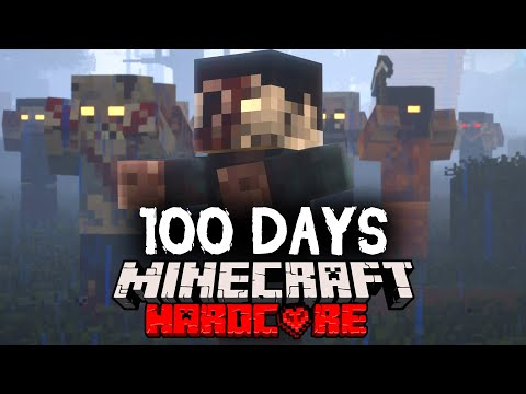 I Spent 100 Days in a Zombie Apocalypse in Minecraft... Here's What Happened - Forge Labs
