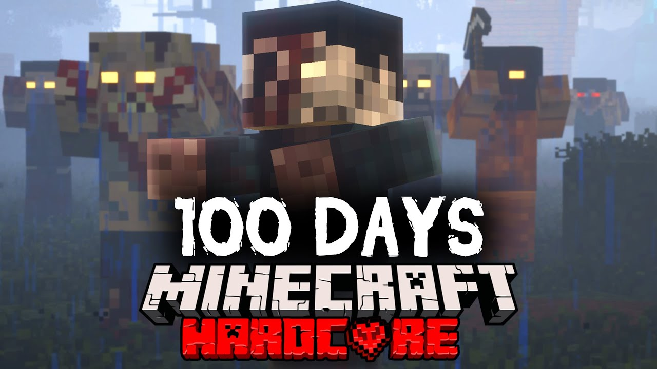 I Spent 100 Days in a Zombie Apocalypse in Minecraft Here s
