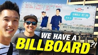 OUR FIRST BILLBOARD!