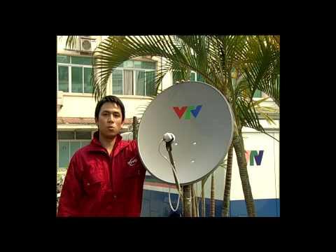 Hướng dẫn xoay và chỉnh chảo parapol để THTH từ vệ tinh vinasat1