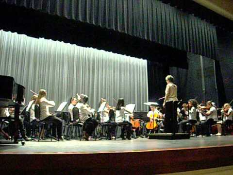 Annual String Jamboree Concert 6th Grade Playing Viking Ships of Old (JL Mann and Beck Academy)