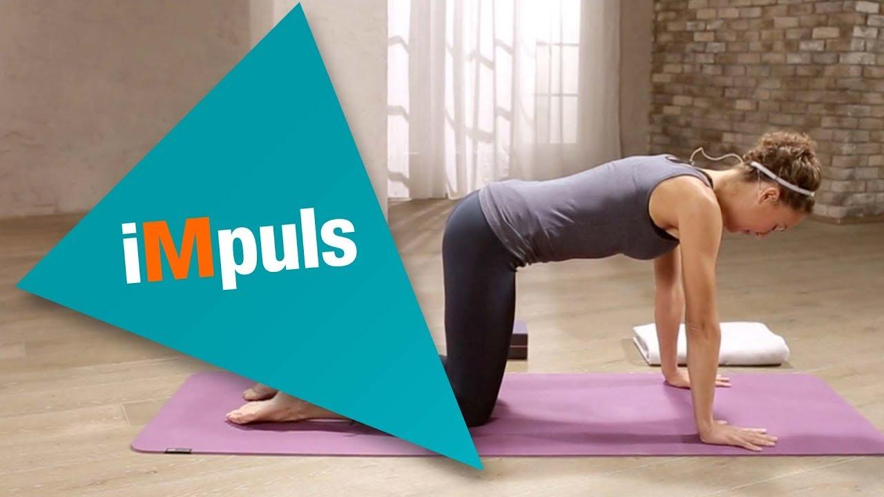 iMpuls Yogalektion für den Rücken   YouTube   Yoga, Benessere
