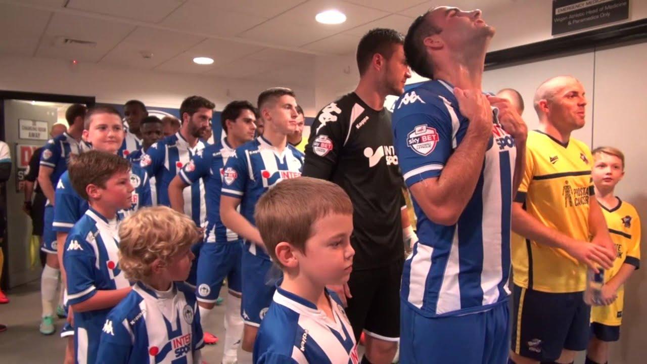 LATICS MATCHDAY: Wigan Athletic 3 Scunthorpe United 0 - YouTube