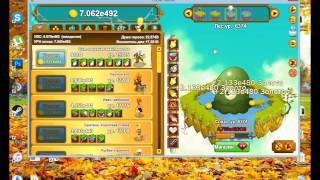 Накрутка ресурсов в игре Clicker Heroes (рубины, золото, души)