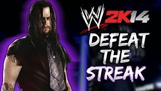 WWE 2K14 - DEFEAT The Streak Mode w/ Daniel Bryan (First Attempt) thumbnail