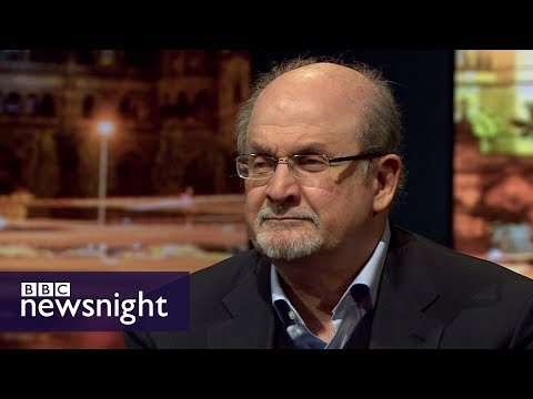 Salman Rushdie on gender, fake news and Trump - BBC Newsnight