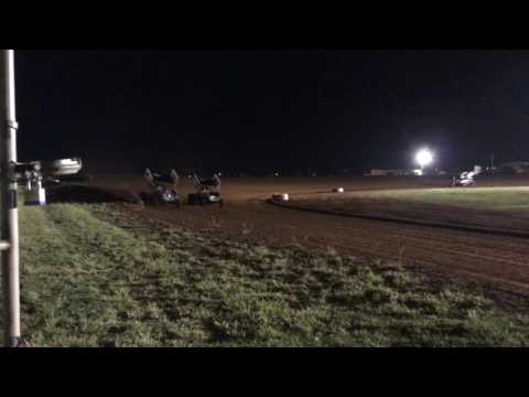 Lawton Speedway - Winter Nationals - Winged Sprint Cars - Hot Laps