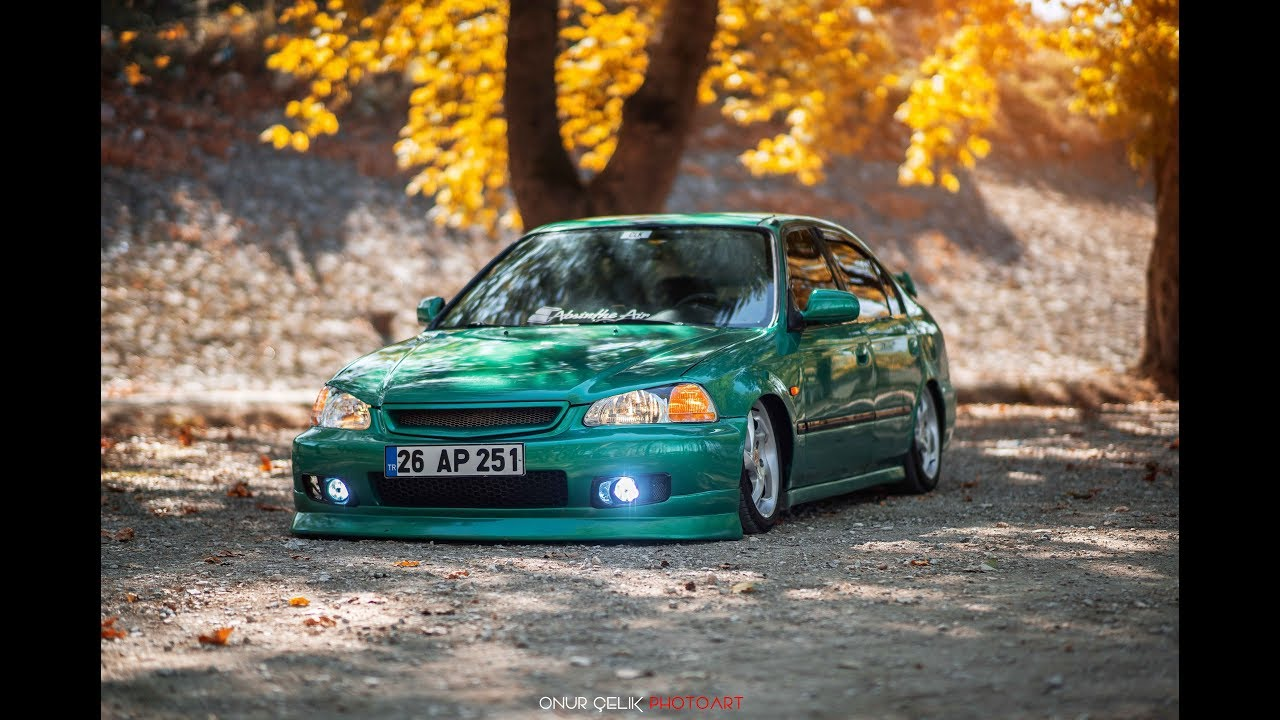 honda civic green youtube