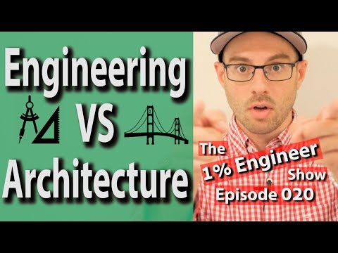 Engineering vs Architecture | Architecture Engineering Work
