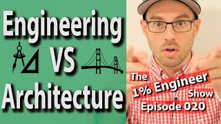Engineering vs Architecture | Architecture Engineering Work | Civil Engineering vs Architecture