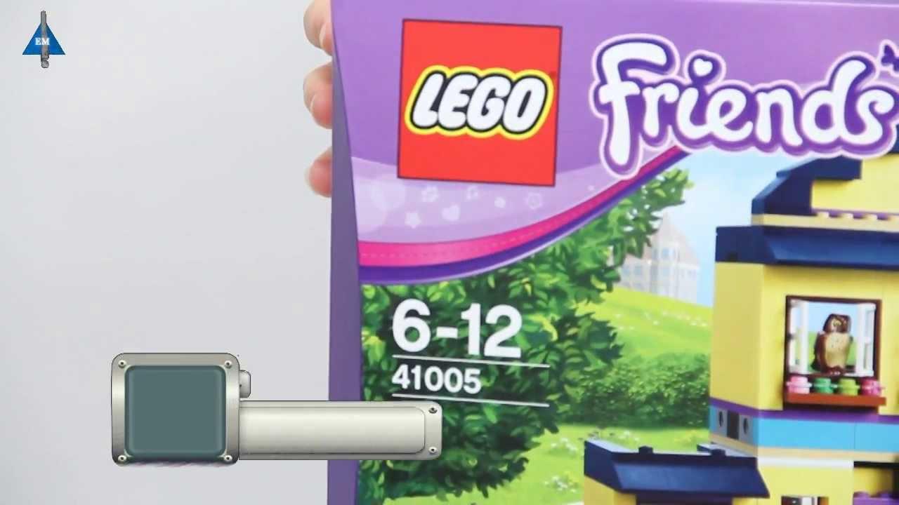 LEGO Friends 41005 Школа Хартлейк Сити - YouTube