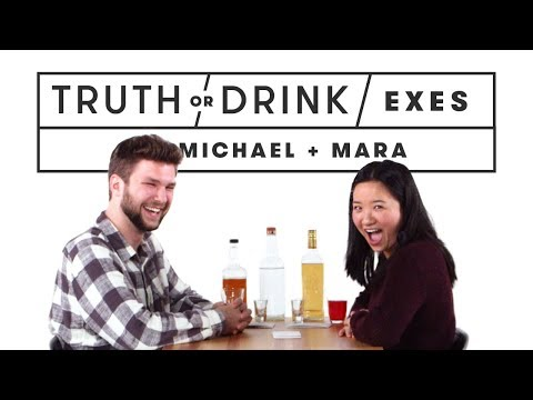 Exes Play Truth or Drink (Michael & Mara) | Truth or Drink | Cut