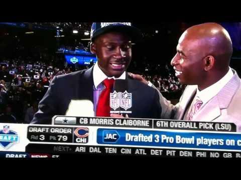 Morris Claiborne draft interview