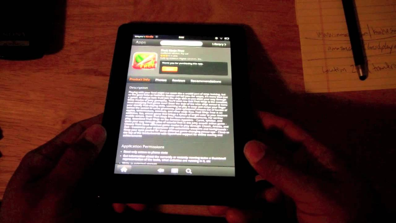 Kindle Fire: How to Downloads Apps | H2TechVideos
