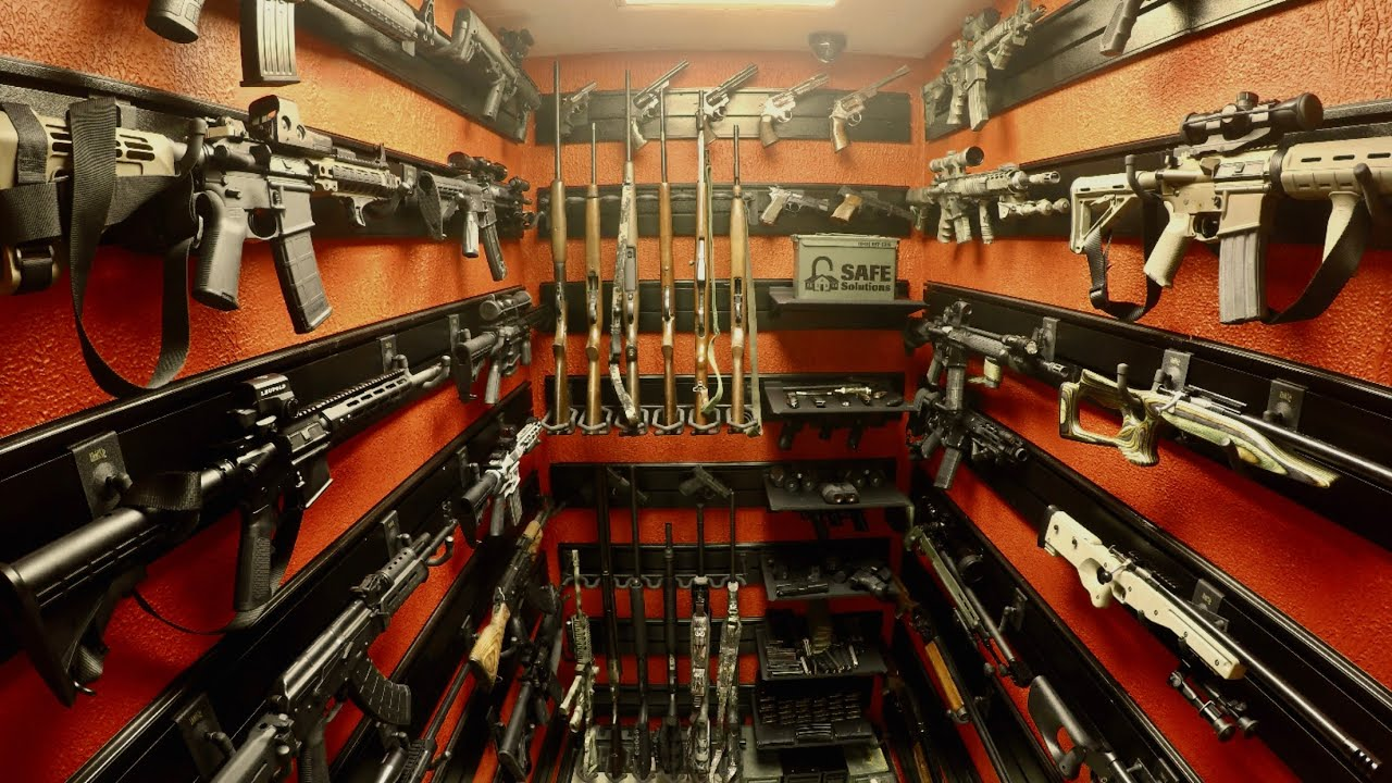 Gun Racks and Firearm Wall Displays