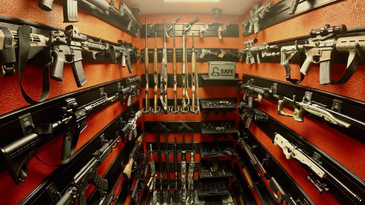 Hold Up Displays Modular Gun Room Installation Video Youtube