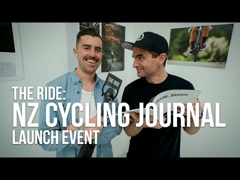 THE RIDE at the NZ Cycling Journal Launch Event