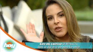 Kate del castillo se retracta sobre el catálogo de actrices | Hoy