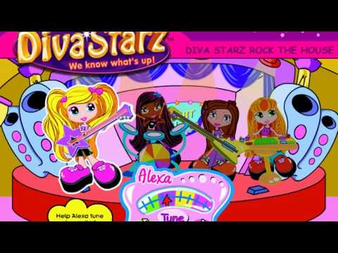 Good Old Barbie Games : The Diva Starz Rock The House Game Play + Link
