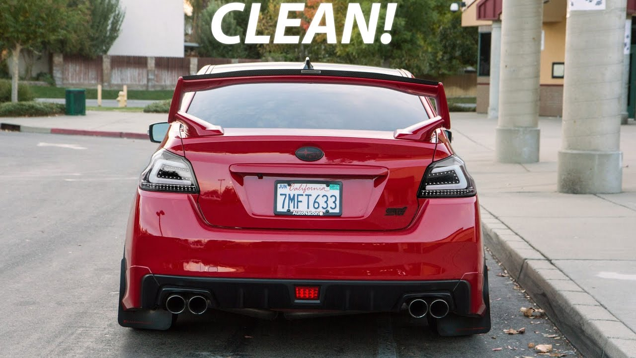 The Cleanest Red Subaru Wrx Timeline Of 2016 Youtube