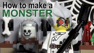 How to make a monster - a LEGO ® Monster Fighters stopmotion