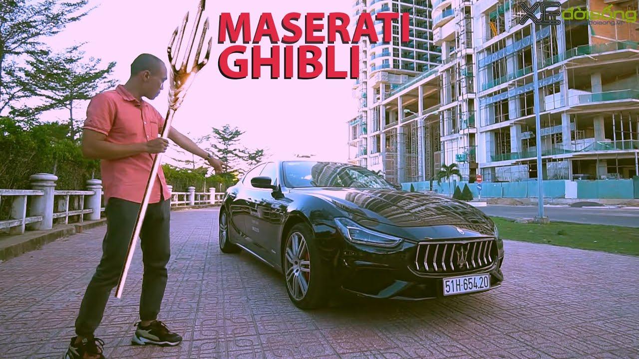 Đánh giá Sedan 6 tỷ Maserati GHIBLI GranSport 350hp, động cơ Ferrari, không có đối thủ xứng tầm!