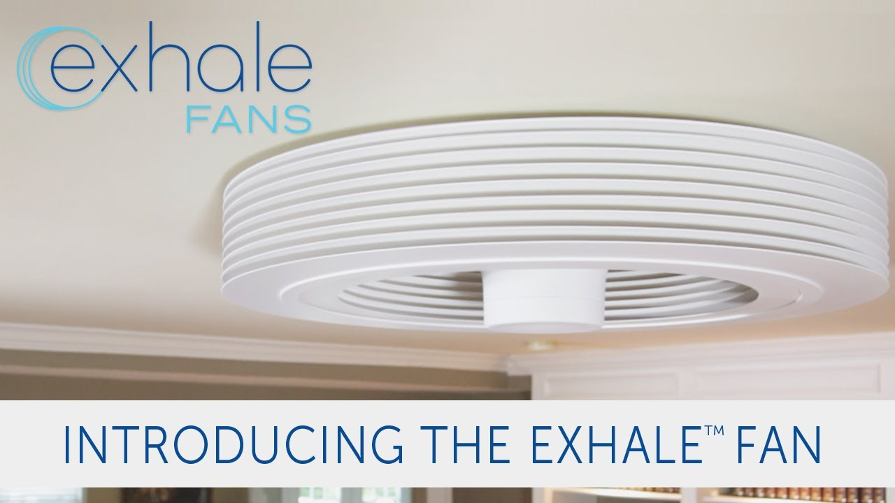 Exhale fans launches its bladeless ceiling fan on indiegogo youtube aloadofball