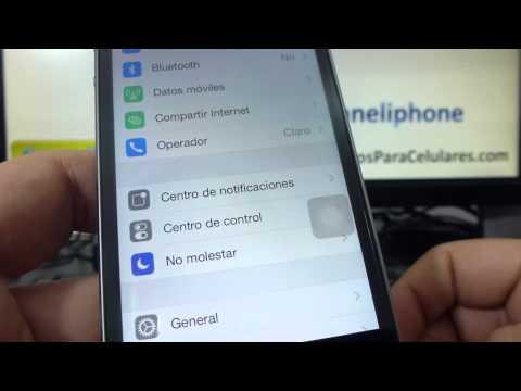 como eliminar correo gmail del movil en iphone 5S 5C 5 4 iOS 7 español Channeliphone