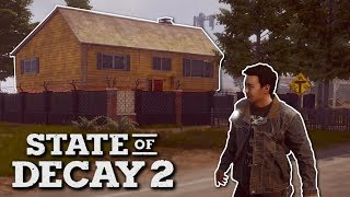Zombie Apocalypse Survival! - State of Decay 2 Gameplay - Finding a Base & Building