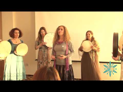 Women Student Drummers from Paphos, Cyprus