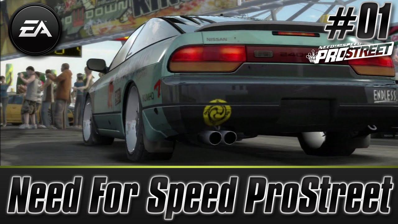 Need For Speed ProStreet PS3 Lets Play Walkthrough Career Mode Part 1