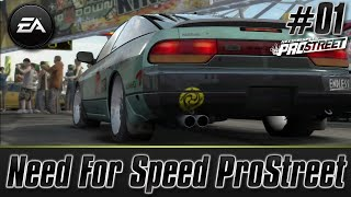 Need For Speed ProStreet (PS3) (Let's Play/Walkthrough): Career Mode Part 1