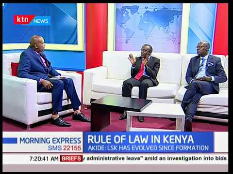 Rule of Law in Kenya: LSK goes to the polls today.