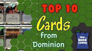 Top 10 Cards from Dominion