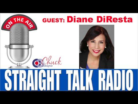 Diane DiResta - Straight Talk Radio Interview with Chuck Gallagher
