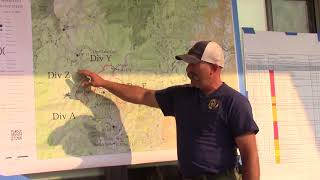 Rabbit Foot Fire Operational Briefing for Friday, August 10th, 2018