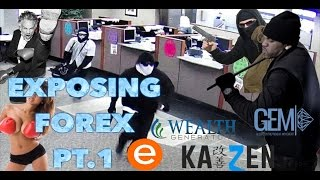 Exposing Forex, Multi Level marketing and penny stocks Pt.  1