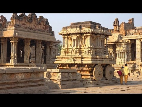 The Ruins of Hampi, Karnataka, India in 4K (Ultra HD)