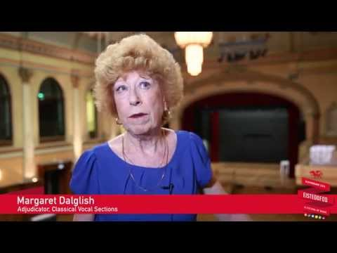 Classical Vocal Adjudicator Margaret Dalglish speaks to young singers about careers in the industry