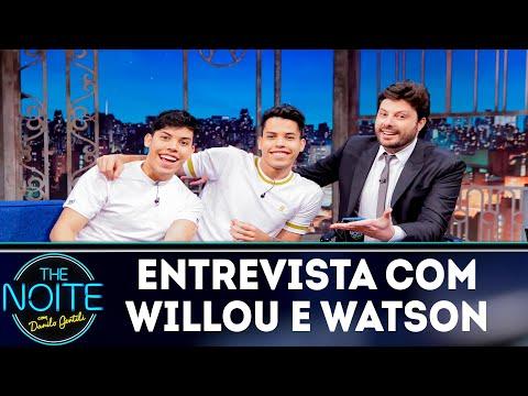 Entrevista com Willou e Watson  The Noite 231118