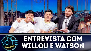 Entrevista com Willou e Watson | The Noite (23/11/18)
