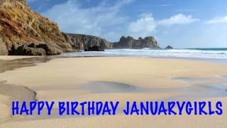 JanuaryGirls Birthday Song Beaches Playas